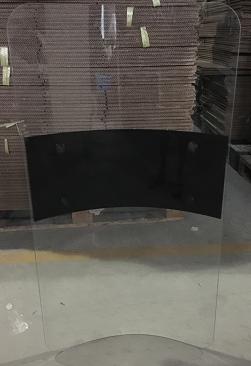 Escudo antidisturbios inverso 60x90 cm.