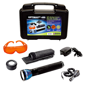 Kit de lámpara LED Forense - OFK - 450 OPTIMAX Azul